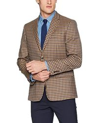 Ben Sherman - Multi Tan Check Sport Coat - Lyst