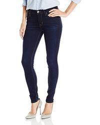 Hudson Jeans - Nico Midrise Super Skinny Elysium 5 Pocket - Lyst