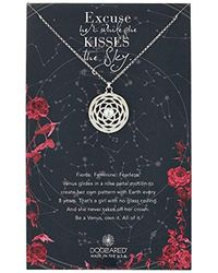 Dogeared - Ancient Moon Rising Large Pattern Of Venus Chain Necklace - Lyst