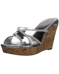 Guess - Eleonora Wedge Sandal - Lyst