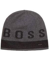 5070c711f74 BOSS - Ebrami Knitted Cap - Lyst