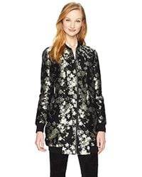 BCBGeneration - Long Embroidered Bomber - Lyst