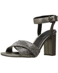 5ae4e92910c Kenneth Cole Reaction - Crash Glitzy X-band Strap With Mini Jewels On High  Heel