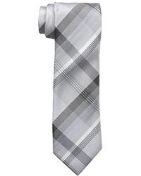 Geoffrey Beene - Plaid Instinct Tie - Lyst