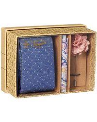 Original Penguin - 3-piece Pattern Tie, Pocket Square & Lapel Pin Box - Lyst