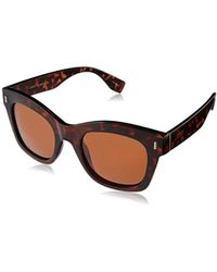 0ffd4dea3f38e Joe s Jeans - S Jj 16011 Square Fashion Designer Uv Protection Sunglasses -  Lyst