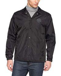 Quiksilver - S Surf Coach Black Jacket Size - Lyst