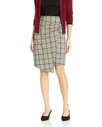 Ellen Tracy - Bow Front Skirt, - Lyst