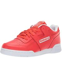 Reebok - Workout Plus, Canton Red/white 12.5 M Us - Lyst