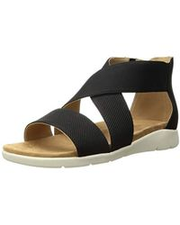 Rockport Cl Eileen 2 Piece Sandal - Black