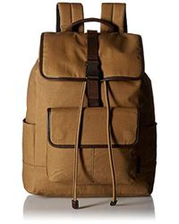 Fossil - Buckner Rucksack Backpack, Brown, One Size - Lyst