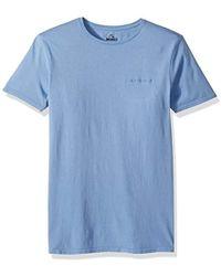 669ce4697b Carhartt Bounty Prior T-shirt- Navy/wax Stripe in Blue for Men - Lyst