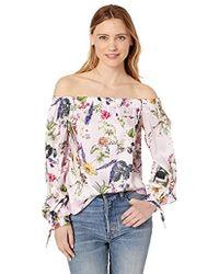 8d0192511234d Bailey 44 - Tarte Tartin Printed Off The Shoulder Floral Top - Lyst