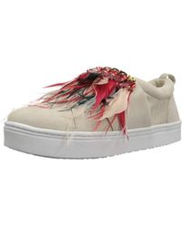 8660946a2d8f Lyst - Sam Edelman Lelani Sneaker in Red