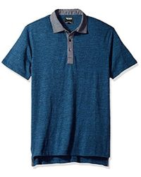 Todd Snyder - Chambray Collar Polo Shirt - Lyst