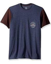 Volcom - Feels Like Short Sleeve Pocket Tee - Lyst