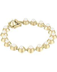 Eddie Borgo - Pearl Cabochon Tennis Bracelet - Lyst