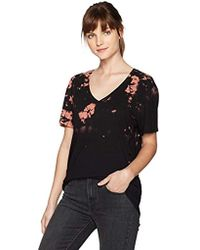 Guess - Short Sleeve Destroyed Tie Dye T-shirt - Lyst