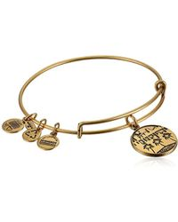 """ALEX AND ANI - """"places We Love"""" Russian Miami Ii Expandable Wire Bangle Bracelet, 7.25"""" - Lyst"""