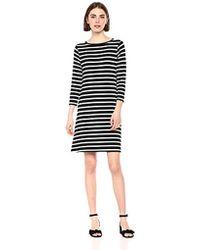 Amazon Essentials - 3/4 Sleeve Boatneck Dress - Lyst