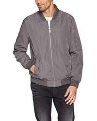 fdd537f09 Calvin Klein Full-zip Stand-collar Lightweight Jacket in Green for ...
