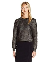 Kendall + Kylie - Foiled P/o Sweater - Lyst