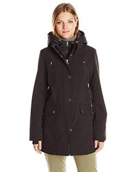Nautica - Soft Shell With Quilted Bib/hood - Lyst