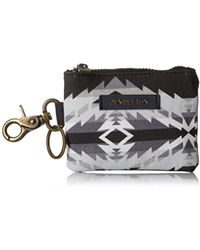 Pendleton - S Canopy Canvas Id Pouch Key Ring - Lyst
