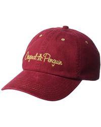 Original Penguin - Twill Dad Baseball Cap - Lyst
