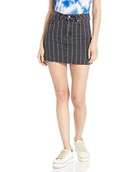 b27b84d794 RVCA Wylee Skirt in Black - Lyst