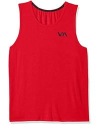 ce0d5b3c3445a8 Feathers Long Vent Tank Top in White for Men - Lyst