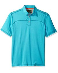 G.H.BASS - Explorer Textured Short Sleeve Polo - Lyst