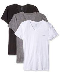DIESEL - Umtee-michael3pack V-neck T-shirt - Lyst
