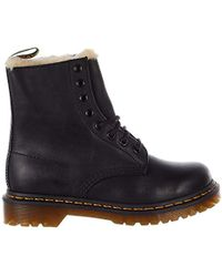 Dr. Martens - Serena Burnished Wyoming Leather Fashion Boot - Lyst