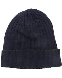 3474bd2a38a Lyst - Dockers Heathered Diamond Knit Skull Beanie Hat in Gray for Men