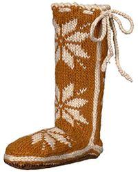 Woolrich - Chalet Sock Slipper, Turquoise, Medium/9-11 M Us - Lyst