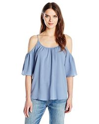French Connection - Polly Plains Cold Shoulder - Lyst