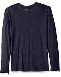 Lee Jeans - Long Sve Crew Neck Shirt - Lyst