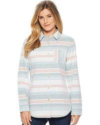 Pendleton - Reversible Serape Stripe Cotton Shirt - Lyst