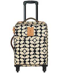 Orla Kiely - Sixties Stem Nylon Luggage Travel Cabin Case - Lyst