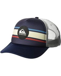 dbbfade33f3 Lyst - Quiksilver Seasons Cap Trucker Hat for Men