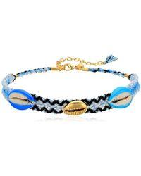 Rebecca Minkoff - S Lola Friendship Choker Necklace - Lyst