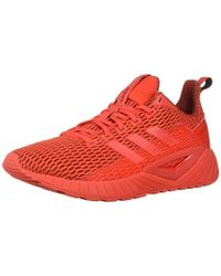 376a78eb633 Lyst - Adidas Men s Zx Flux Originals Running Shoe in Red for Men