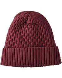 8f2b4915a66 Lyst - Columbia Hideaway Haven Slouchy Beanie in Red
