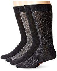 Dockers - 4 Pack Herringbone Dress Socks - Lyst