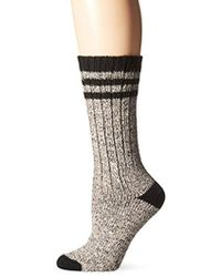 Wigwam - Pine Lodge Midweight Classic Outdoor Lifestyle Crew Boot Sock - Lyst