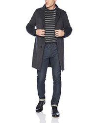 874642ccd6 Theory 'kaiter' 3-layer Poplin Car Coat in Black for Men - Lyst