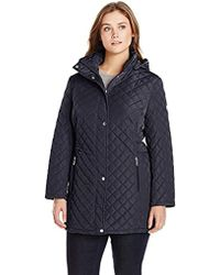 Calvin Klein - Classic Quilted Jacket With Side Tabs - Lyst