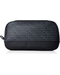 b3a3d085f1ae The Logo Sling Pouch In Black.  50. Karmaloop · Armani Exchange -