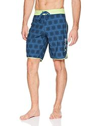 2d41a82ce7 RVCA Ashbury Trunk in Blue for Men - Lyst